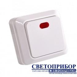 YW-1801  Выключатель одноклавишный с подсветкой