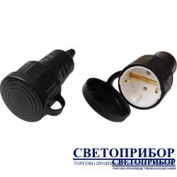 BYLECTRICA Р16-361 Розетка переносная с заземляющим контактом брызгозащищенная