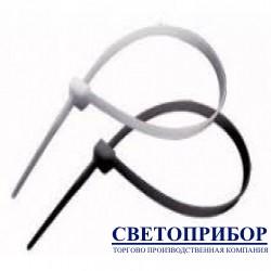 APRO Хомут нейлоновый белый/черный 3,6х200