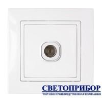 ТР-046 Розетка телевизионная (полимерный суппорт)