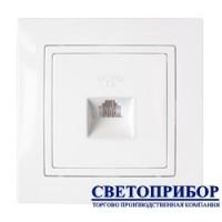 ТР4-048 Розетка телефонная (полимерный суппорт)