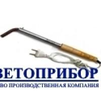 Электропаяльник бытовой Запорожье 220В 200Вт дерево