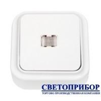 А1 10-214 Выключатель одноклавишный со светодиодной индикацией