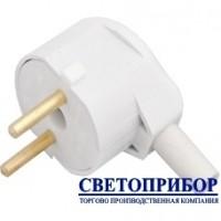 BYLECTRICA В6-241 Вилка штепсельная с боковым подводом провода