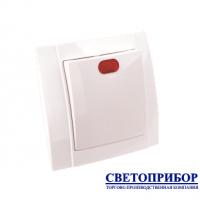 YW-2501 Выключатель одноклавишный со световой индикацией