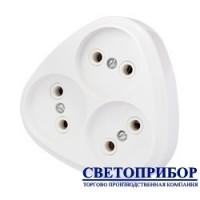 BYLECTRICA РВ16-258 Разветвитель трехместный