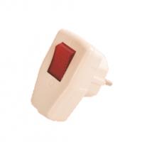 YW-7352 Вилка с выключателем
