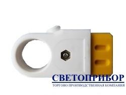 YK210F розетка плоская с кольцом