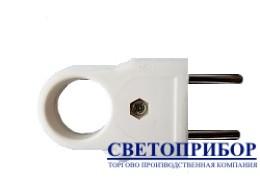 YK210M  вилка плоская с кольцом