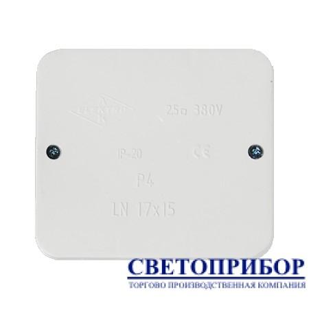 Р-4 Коробка распределительная наружного монтажа (клема) 5 х 2, 5 мм