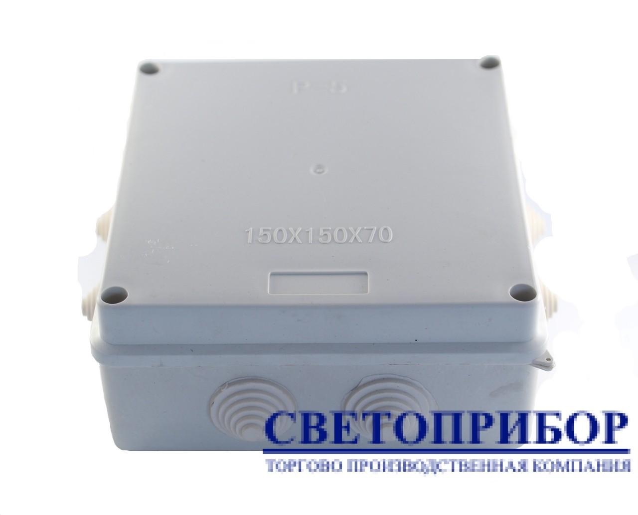 Р-5 Коробка распределительная герметичная, 150х150х70мм