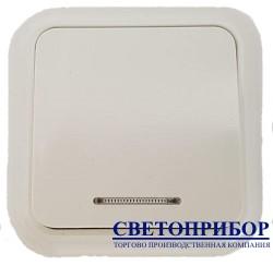 А1-011 выключатель с подсветкой 1 клавишный (D05)