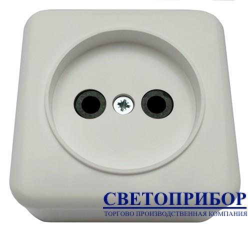 """Розетка 1-я наружная """"ЕМП"""""""