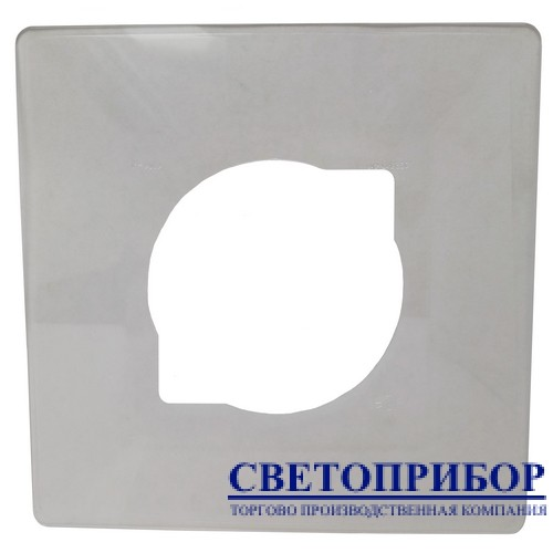 Bylectrica Накладка на 1 выключатель прозрачная 410-01