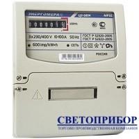 ЭНЕРГОМЕРА ЦЭ 6804-U 230В 10-100А МР32 Трехфазный однотарифный электросчетчик