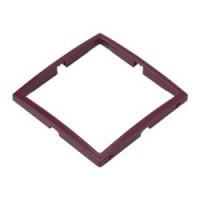 Рамка декоративная - цвет: бордовый (13)