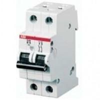 SH202-В6 Двухполюсный автоматический выключатель